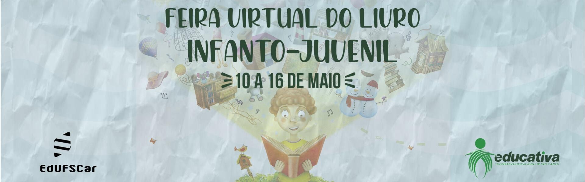 Feira virtual do livro infanto-juvenil