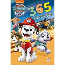 Patrulha Canina: 365 Atividades e desenhos para colorir