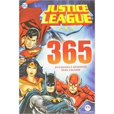 Liga da Justiça: 365 Atividades e desenhos para colorir