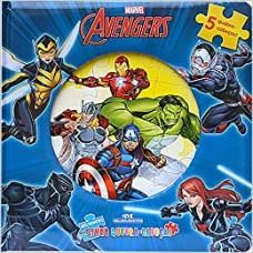 Avengers - Meu primeiro livro quebra-cabeças