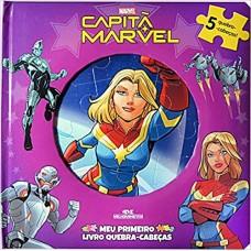 Capitã Marvel - meu primeiro livro quebra-cabeças