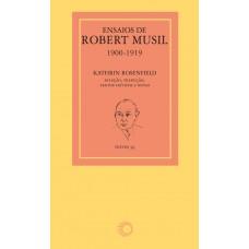 Ensaios de Robert Musil: 1900-1919